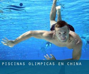 Piscinas olímpicas en China